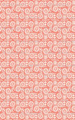 Flora Deco in Peach Pink