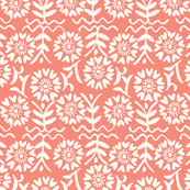Flora Deco in Peach Pink