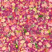 Bella Flora - in Purples
