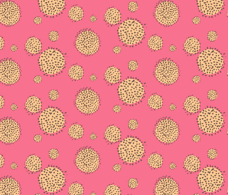 Friendly Forest Spots fabric by taffyandtwine on Spoonflower - custom fabric