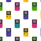 Gameboy Colors (on White)