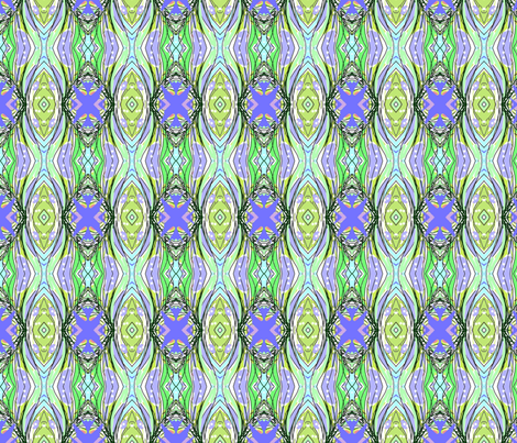 Purple Sage Garden fabric by menny on Spoonflower - custom fabric