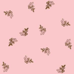 Petit Trianon ~ Rosebud Calico ~ Dauphine