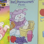 Puffalump Coloring Books