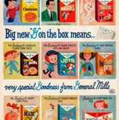 General Mills Cereal Vintage Images