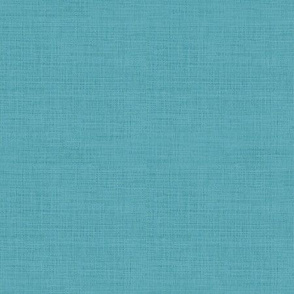 Linen Look, Turquoise Blue