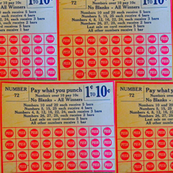 Candy Shop Punch Card