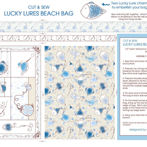 Lucky Lure Beach Bag