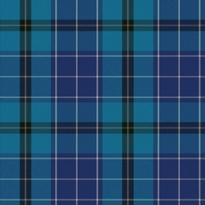 Highland Blues Tartan