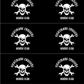 Nightmare Cruisers Hearse Flag
