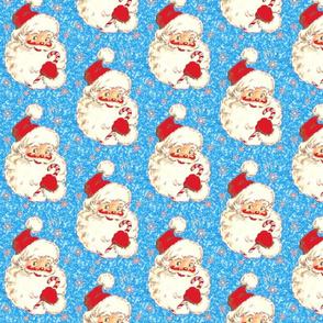Santa Blue Sparkle Christmas Glitter! 2014