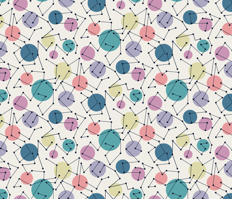Constellations fabric by demigoutte on Spoonflower - custom fabric