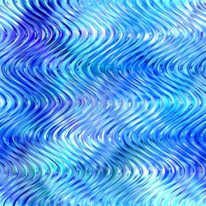 Glisten wave in periwinkle