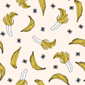 Bananas - Champagne/Mustard by Andrea Lauren