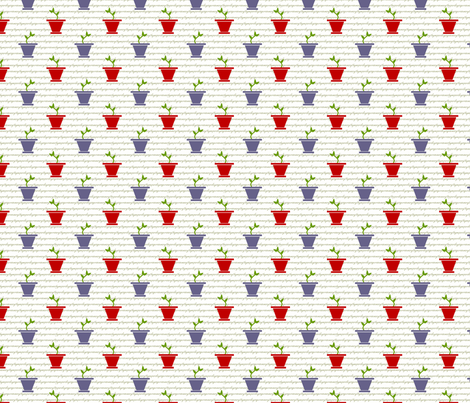 herb garden fabric by cindyluwho on Spoonflower - custom fabric