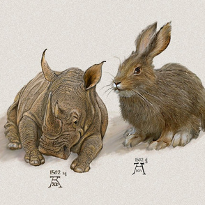 Rhino and Hare - Large
