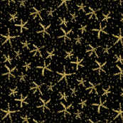 Sparkly stars on lamp black by Su_G