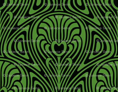 Nouveau in Green