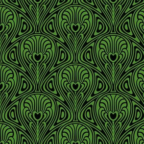 Nouveau in Green