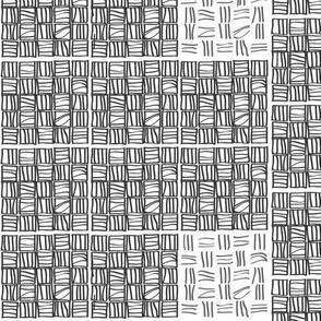 Black & White_little stripes