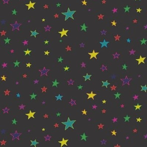 starry night_sprinkle infinity_black