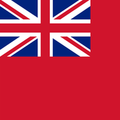 The British Merchant Ensign.
