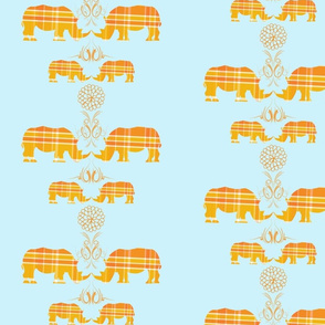 Rhinos-in-Plaid-ed