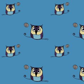 Grouchy Owls