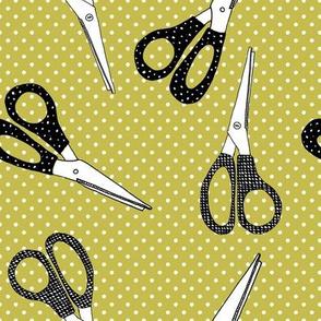scissors dots