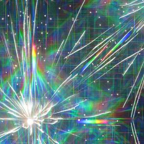 rainbow sparks