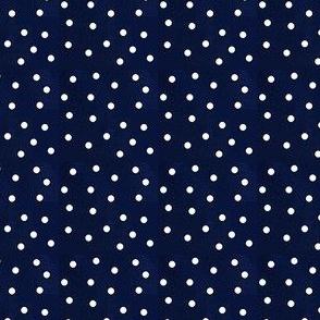 Slightly larger polka dots