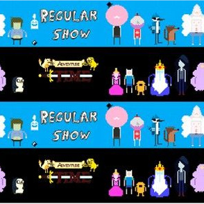 Regular Show/Adventure Time