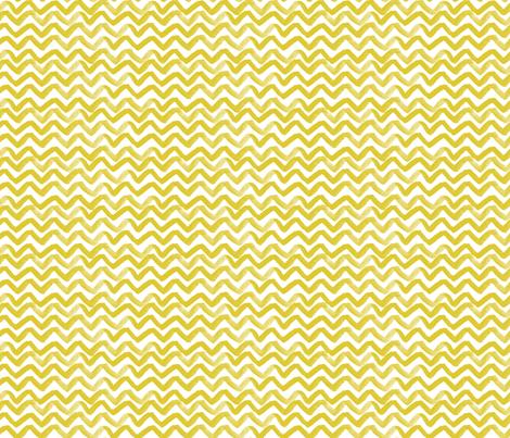 Zig Zag waves Citron