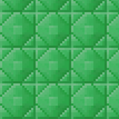 Minecraft Emerald Ore Blocks - Medium