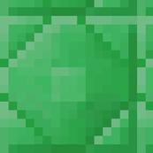 Minecraft Emerald Ore Blocks - Extra Large