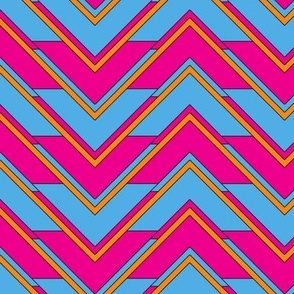 chevron_pink_blue_orange