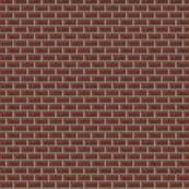 Minecraft Brick Wall - Small