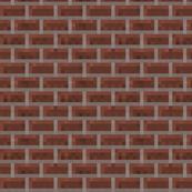 Minecraft Brick Wall - Medium