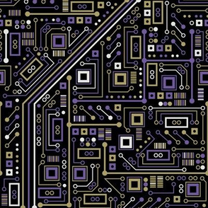 Short Circuits (Purple and Gold)