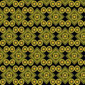 Byzantine Tile_navy