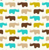 Sabana rhinos