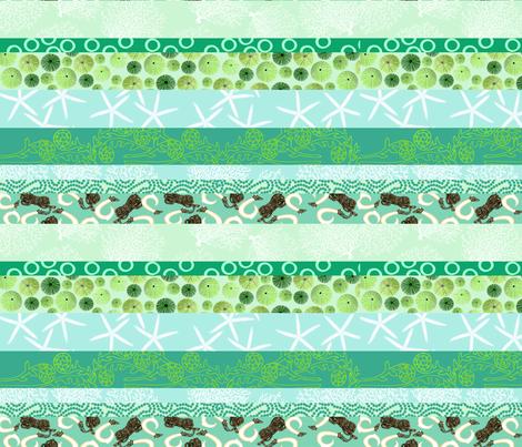 Hawaiian Ocean Love fabric by honoluludesign on Spoonflower - custom fabric