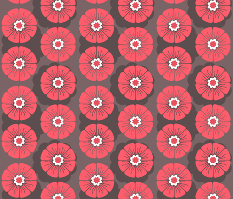 Laecker Rose fabric by brainsarepretty on Spoonflower - custom fabric