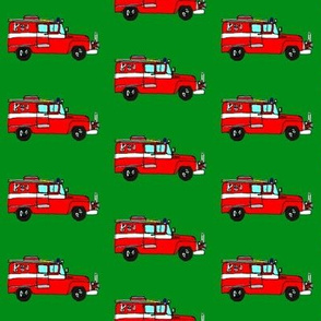 Firetruck boxers
