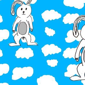 Cloudy bunny