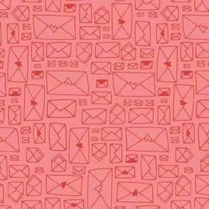Envelopes - pink