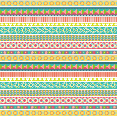 Ribbons  fabric by vo_aka_virginiao on Spoonflower - custom fabric