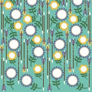 Floral Arrows