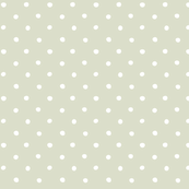 polka dot - white on gray