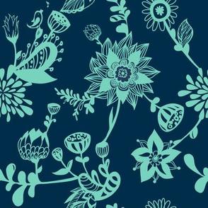Florals design 09